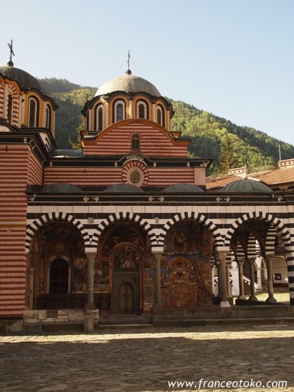 ブルガリア観光、世界遺産リラの僧院、リラ修道院 Bulgaria Tila monastery