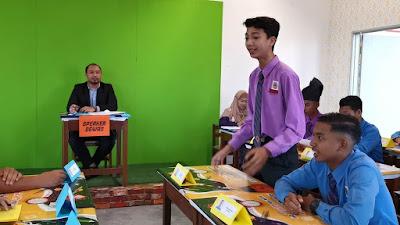 Bila YB Muda Bersidang di Parlimen Teknologi Hijau