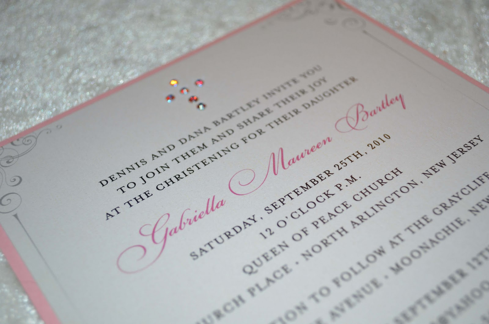 Blinged Out Wedding Invitations