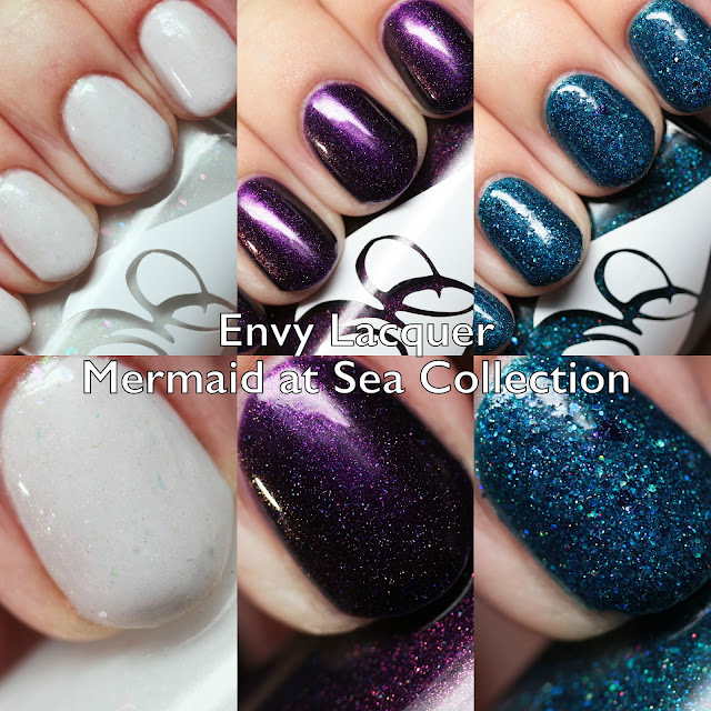 Envy Lacquer Mermaid at Sea Collection