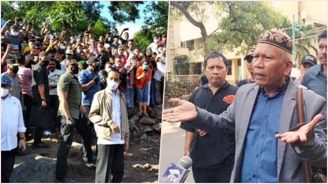 Jokowi Picu Kerumunan Lagi, Mujahid 212: Seharusnya Dijadikan TSK karena Beberapa Kali Langgar Prokes