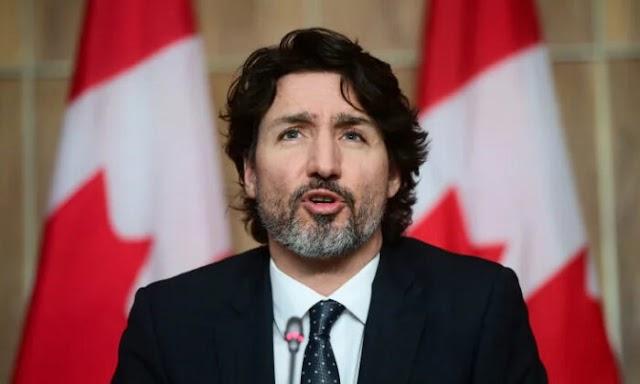 Prime Minister Justin Trudeau Says Johnson & Johnson Vaccine Faces Production Challenges