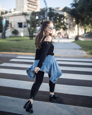 foto tumblr caminando