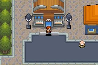 Pokemon Heroes para GBA Gimnasio Pokemon