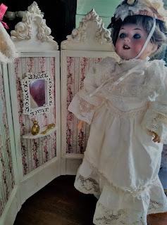 Biombo para muñeca, desembalaje de Oviedo