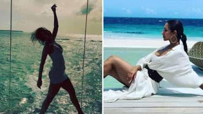 Arjun Kapoor comment on Malaika Arora Photos from Maldives