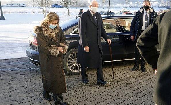 King Harald, Queen Sonja, Crown Prince Haakon and Crown Princess Mette-Marit