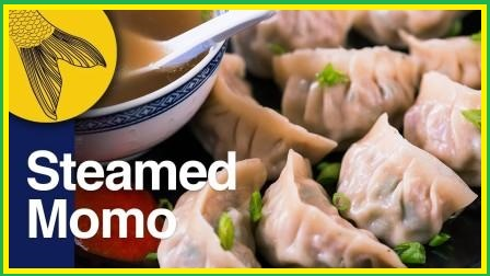 How To Make Chicken Momos At Home | Red Chili Momos Chutney Recipe