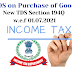 Section 194Q – Tax deduction on the purchase of goods and FAQs