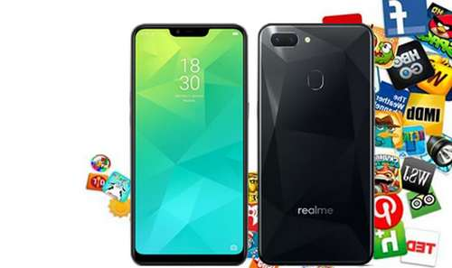 Lock app menu Realme Phone
