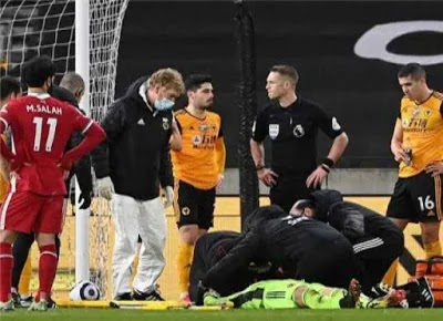 Liverpool sends a message to Wolverhampton after Patricio is seriously injured