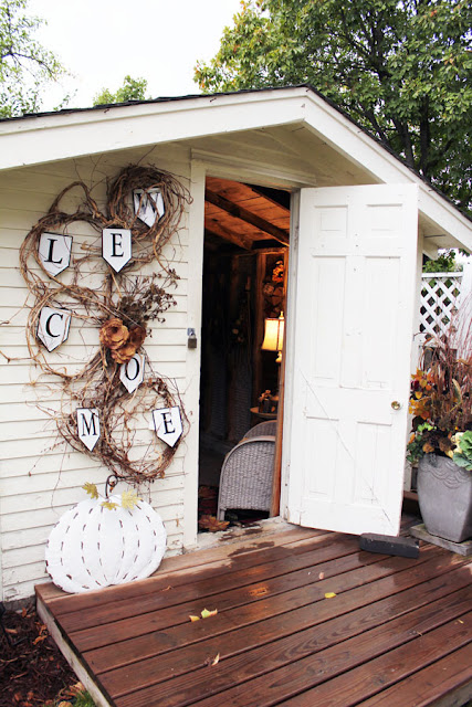 A Tour of the Bachman's 2019 Fall Ideas House From Itsy Bits And Pieces Blog