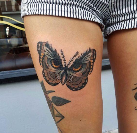 Tatuajes Bonitos Sexys Y Atractivos En Las Piernas Para Mujeres