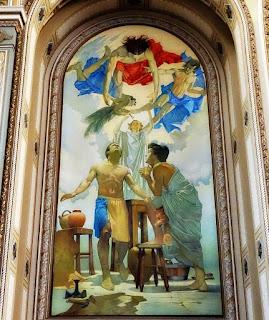 'São Crispim e São Crispiniano', Marciano Schmitz, Catedral São Luiz Gonzaga [Novo Hamburgo]