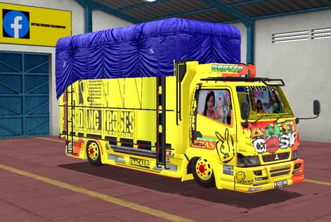 Mod Truck Canter Anti Gosip Terbaru 2021
