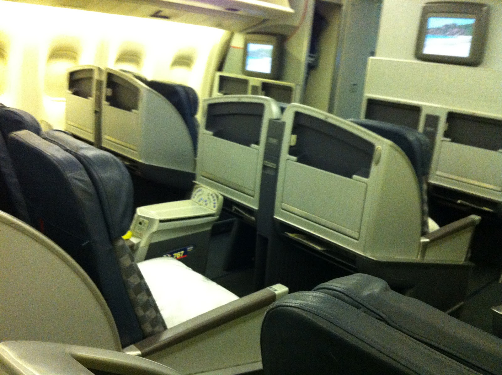 Taste Of Hawaii American Airlines 767 First Class