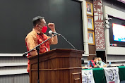 Wawali Richard Sualang Hadiri Pelantikan Pengurus SBSI Kota Manado