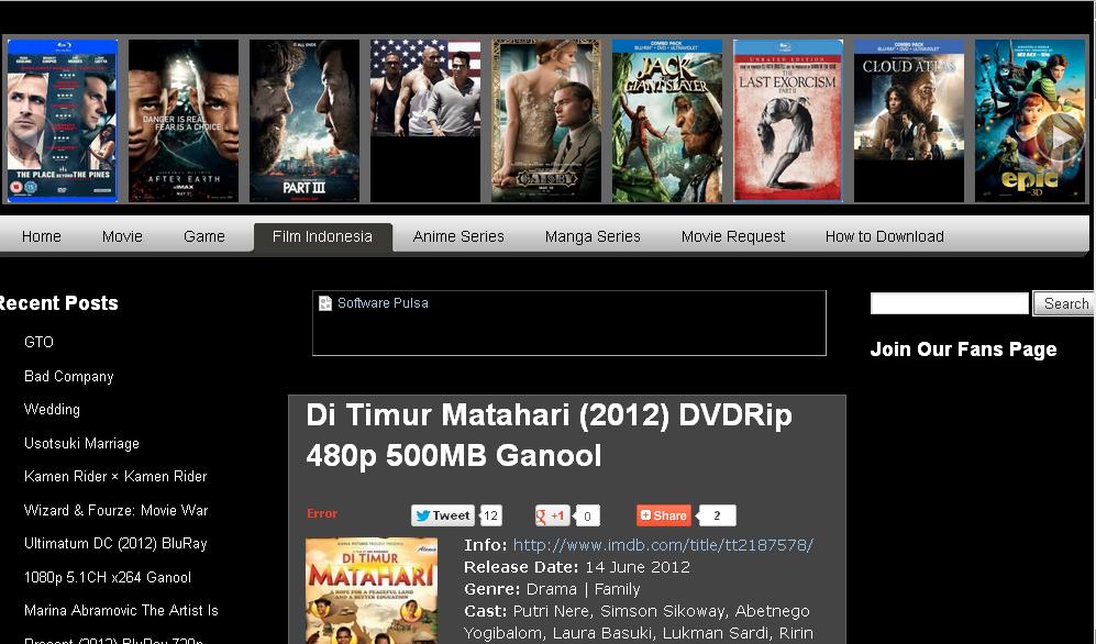 Bima's Blog: Cara Download Film di Ganool.com