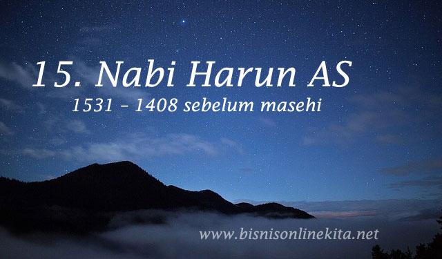 nabi harun as nama nama nabi