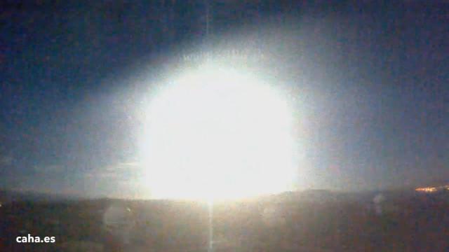 A Holdnál is fényesebb tűzgömb robbant Dél-Spanyolország felett