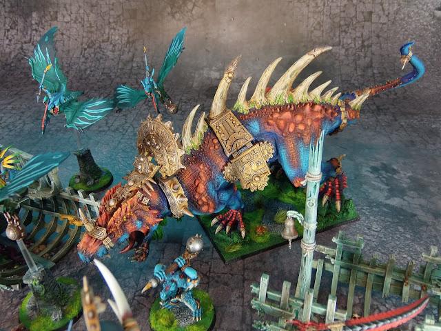 lizardmen carnosaur Forge World