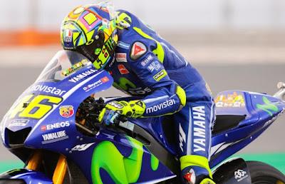 Rossi Senang Masalah Pada M1nya Mulai Tuntas