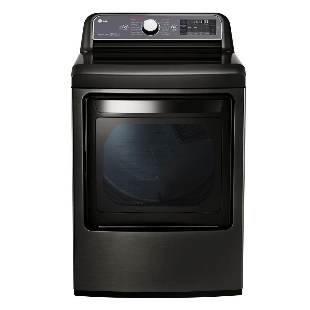 LG 7.3 cu. ft. Electric Dryer with Turbo Steam