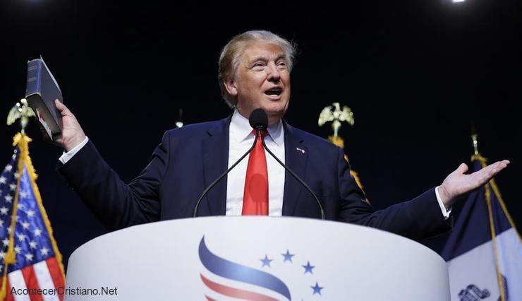 Donald Trump libertad religiosa