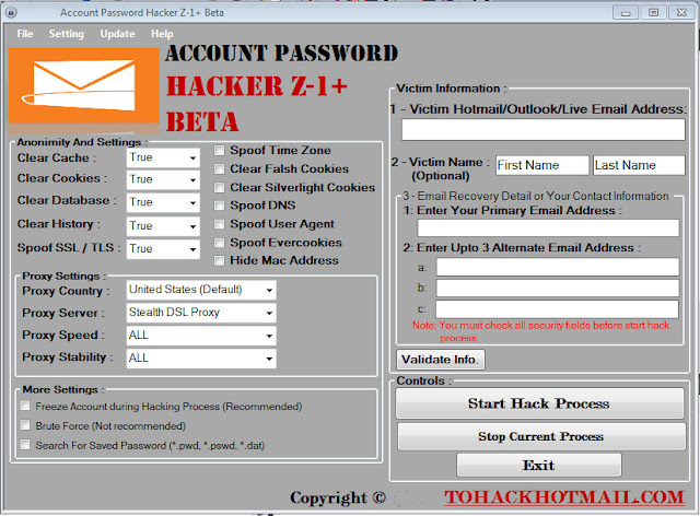 How To Hack Gmail Outlook Yahoo Aol iCloud Facebook Twitter