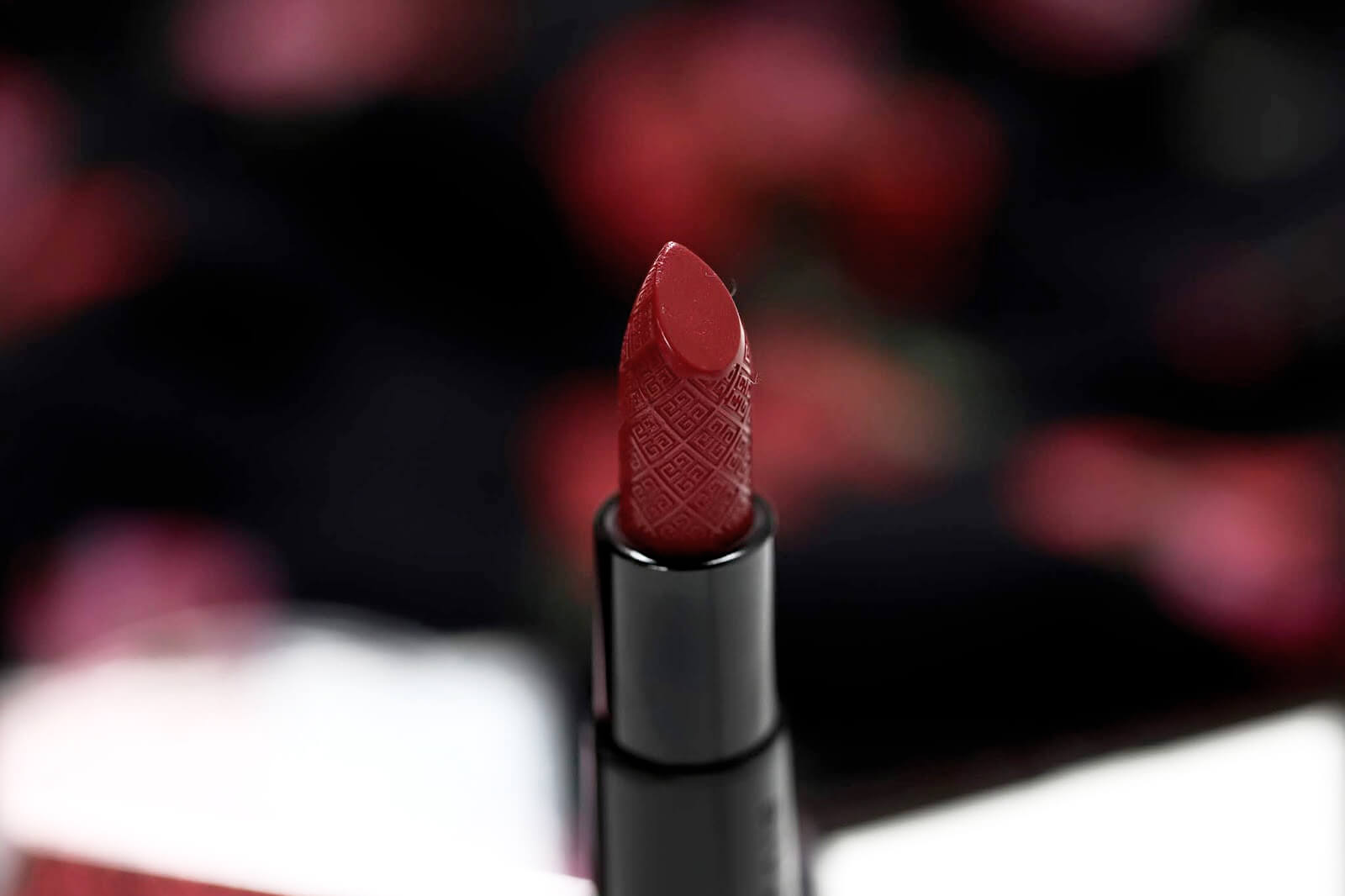 Givenchy Rouge Interdit 28 Thrilling Brown Swatch