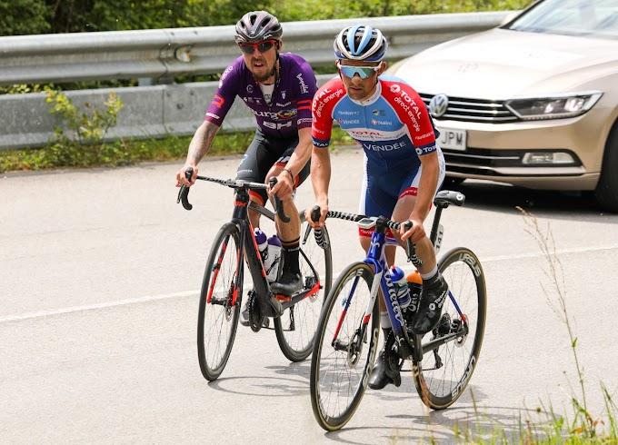El Burgos BH colocó en la fuga de la jornada a tres ciclistas en la etapa reina de la Vuelta a Asturias