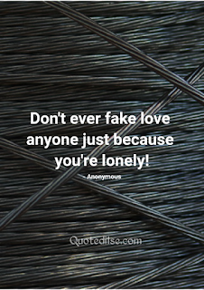 love is fake quotes in english