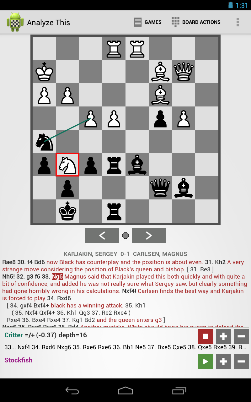 My Chess Apps: Analyze This v2 0 released - your Android