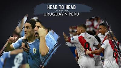 مشاهدة مباراة اوروجواي وبيرو بث مباشر اليوم 29-6-2019 في كوبا امريكا 2019