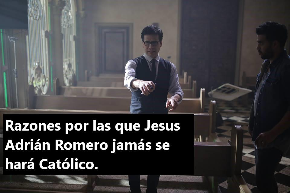 5 razones por las que Jesús Adrián Romero jamás se hará católico