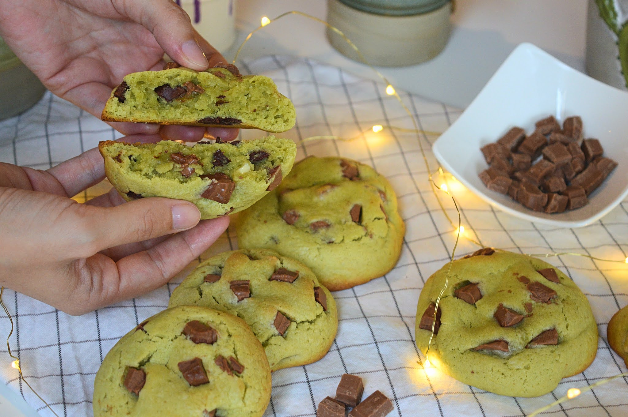 Cookies thé matcha