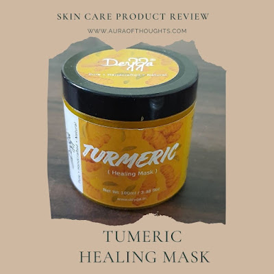 tumeric healing mask - auraofthoughts