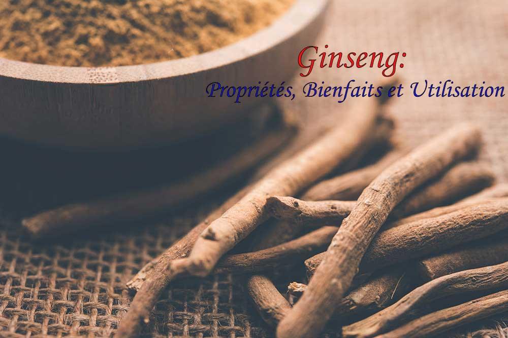 Ginseng: Propriétés, Bienfaits et Utilisation