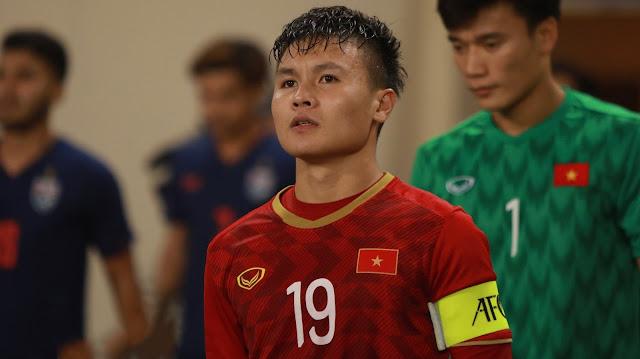 Ở các đội bóng của Park Hang Seo thì dù là Quang Hải...
