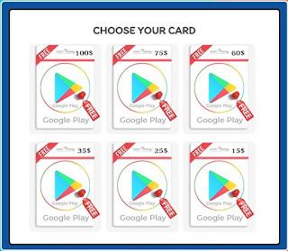 موقع توليد بطاقات جوجل بلاي مشحونة