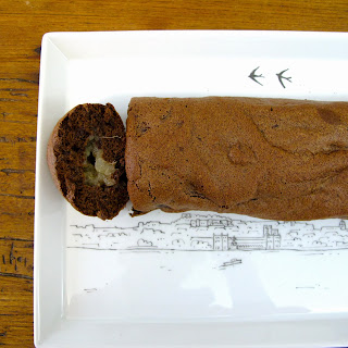 Torta de Chocolate, Pera e Gengibre