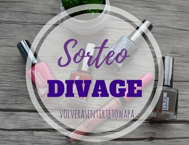 SORTEO - Lote de Maquillaje de la marca DIVAGE