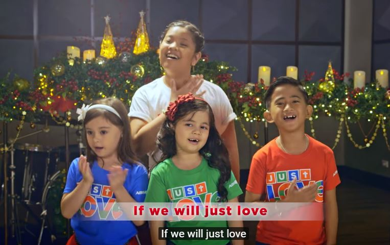 ABS-CBN's children singers Christmas Station ID 2017