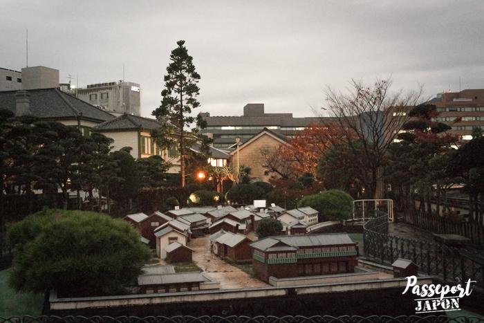 Maquette de Dejima, Nagasaki, Kyushu