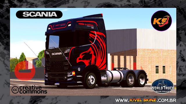 SCANIA S730 - HERÓIS DA ESTRADA (EDITION BLACK)