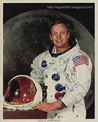 Signed Covers USA 1969 Apollo 11