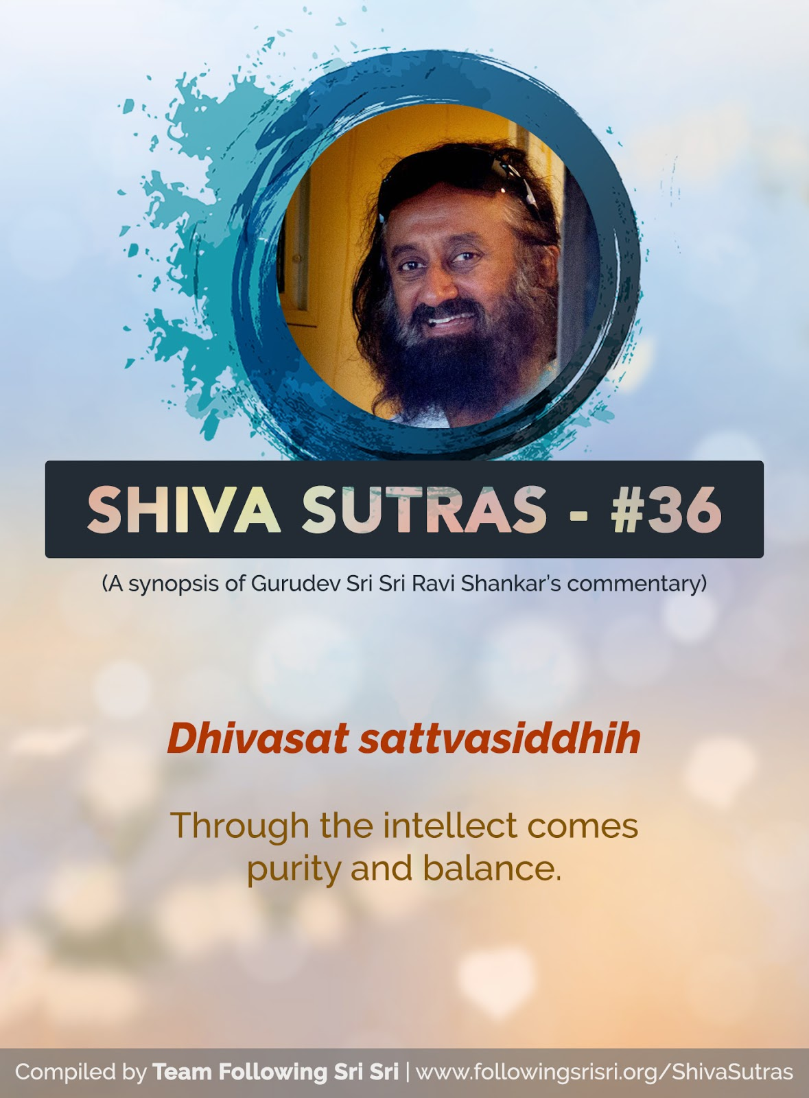 Shiva Sutras - Sutra 36