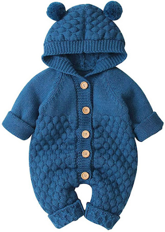 Good Quality Blue Baby Boy Winter Clothes