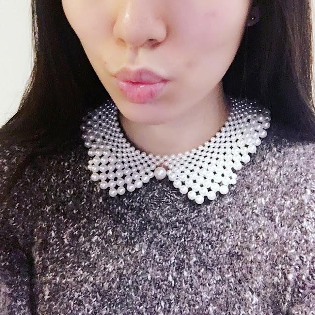 born pretty, bornpretty pearl necklace, pearl choker necklace, pearl necklace collar bornpretty, bornpretty review shop