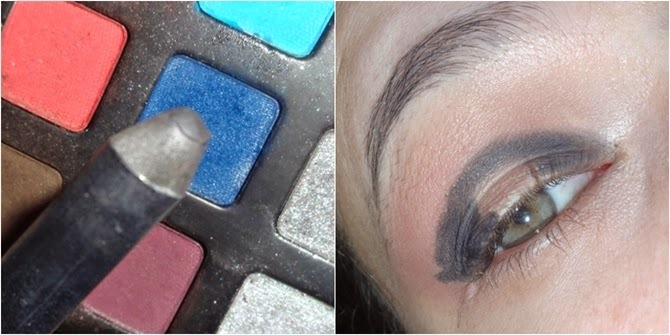 Maquiagem Preto esfumado para festa